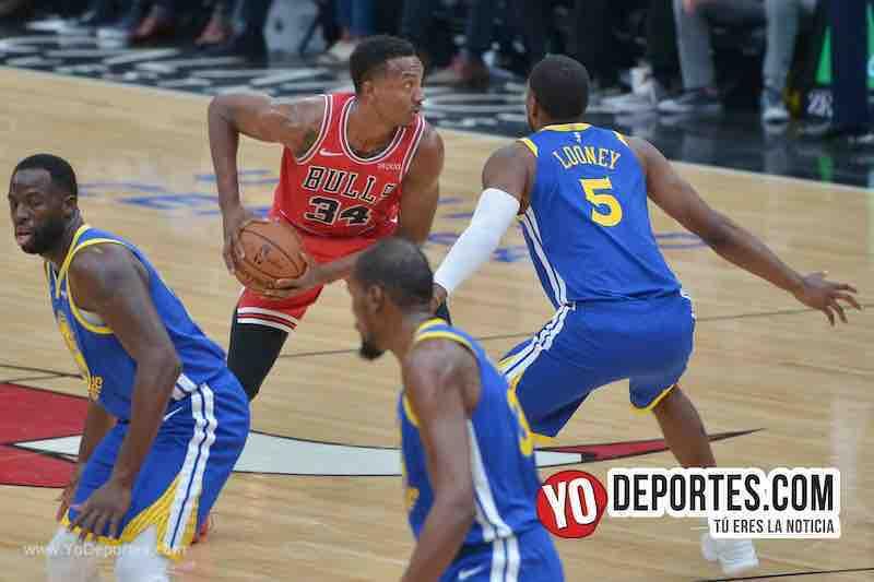 Wendell Charter Jr-Chicago Bulls-Golden State Warriors