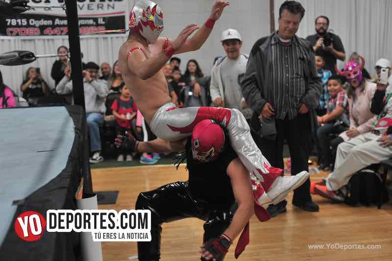 Yakuza'Super Kaoz'Skayde festeja 30 años de carrera en Chicago Lucha Libre Total