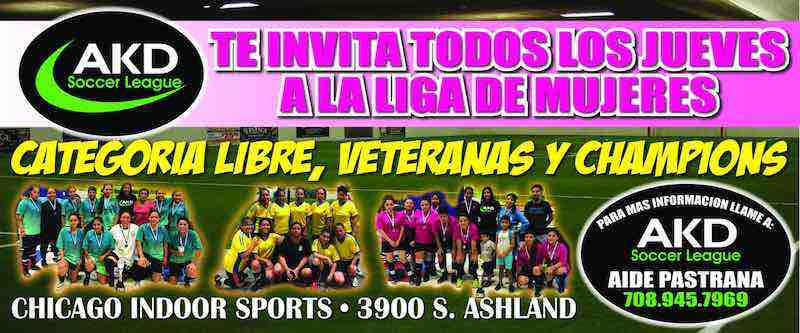 AKD Soccer League Chicago-Liga de Futbol Femenil