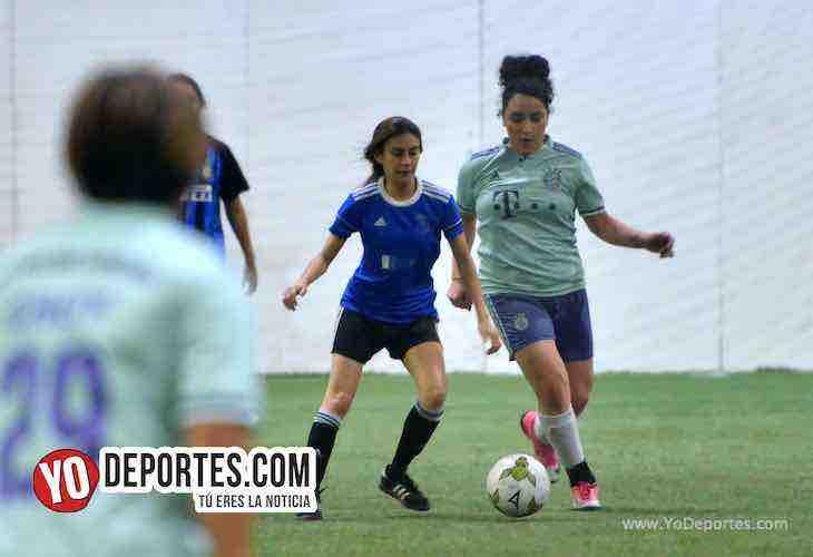 Angeles-Deportivo Amistad-AKD Soccer League Futbol femenino Chicago