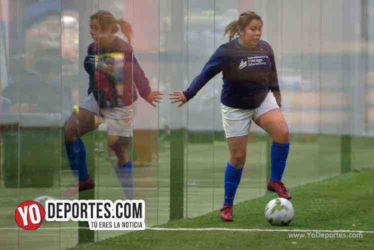 Angeles-Deportivo Amistad-AKD Soccer League Indoor Futbol