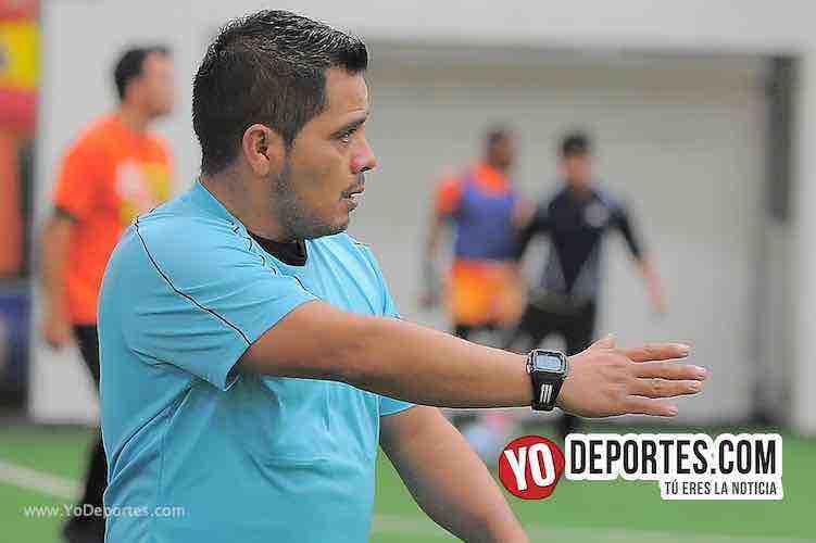 Arbitro Antonio Lopez-Villa Toro-Deportivo La Palma-Champions de los Martes-Liga San Francisco