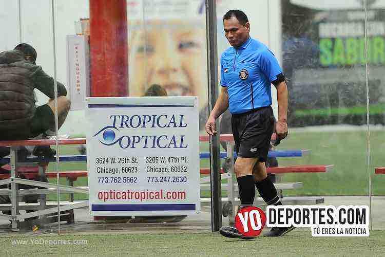 Arbitro Armando Ortega-Aztecas-Botafogo-Liga 5 de Mayo