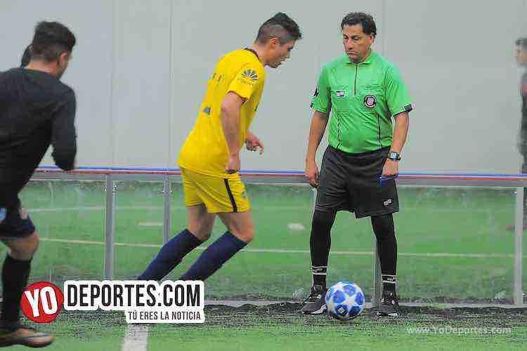 Arbitro Javier Torres-Boca Jr-Southside-Champions de los Martes-Liga San Francisco