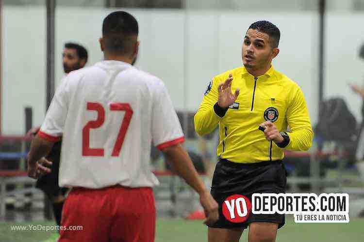 Arbitro John Montoya-Real Michoacan-Santos San Luis-Liga Latinoamericana