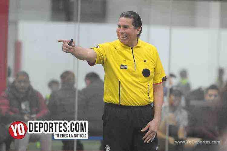 Arbitro Jorge Ruiz-Revolution-A&B Electronics-Liga Latinoamericana