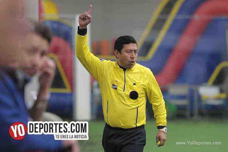 Arbitro Ladislao Velasquez-FC Studz-Southside-Champions Liga San Francisco