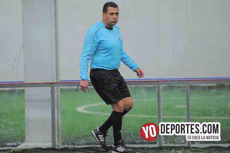 Arbitro Luis Aguilar-Villa Toro-Deportivo La Palma-Champions de los Martes-Liga San Francisco