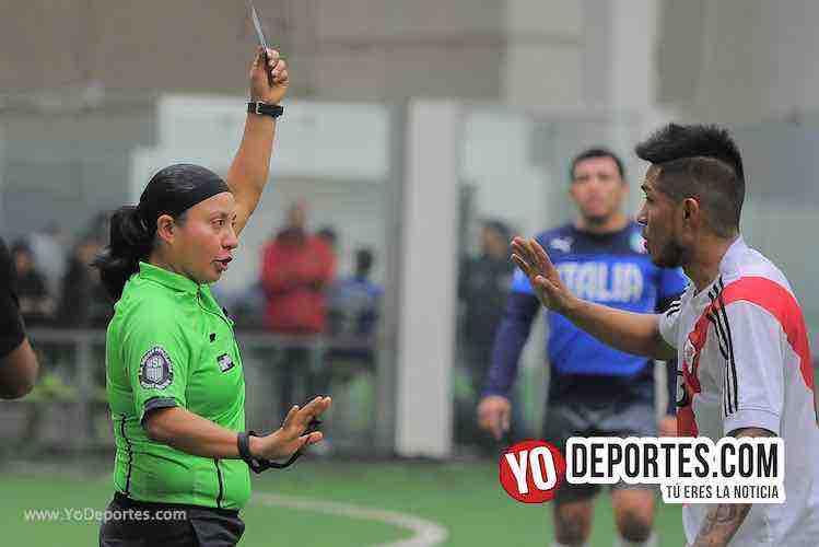 Arbitro Rosalba Luna-Boca Jr-Southside-Champions de los Martes-Liga San Francisco