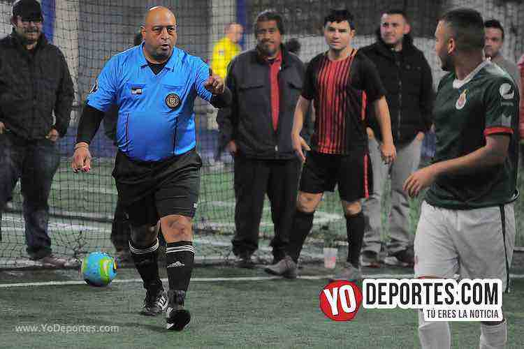 Arbitro Wilson Noriega-Niupi-La Juve -Liga Interamericana