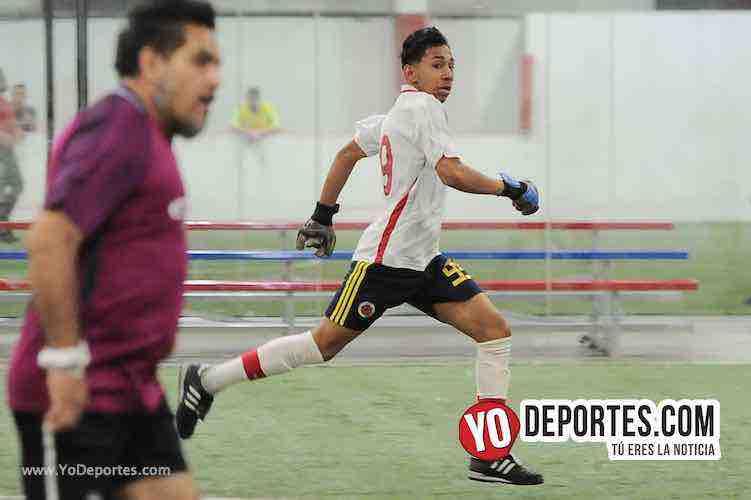 Aztecas-Botafogo-Liga 5 de Mayo Futbol Indoor