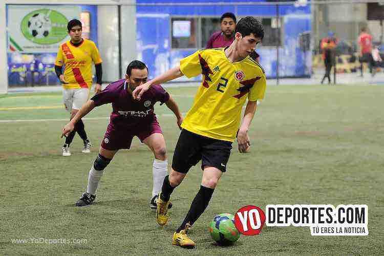 Aztecas-Botafogo-Liga 5 de Mayo Soccer Legaue Indoor Chicago