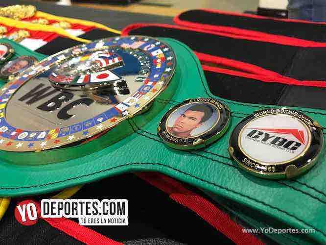 Cinturon Verde WBC-CYBC Power Gloves