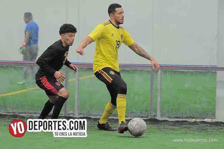 Deportivo La Palma-Chicago Stoners-Liga San Francisco Indoor Futbol