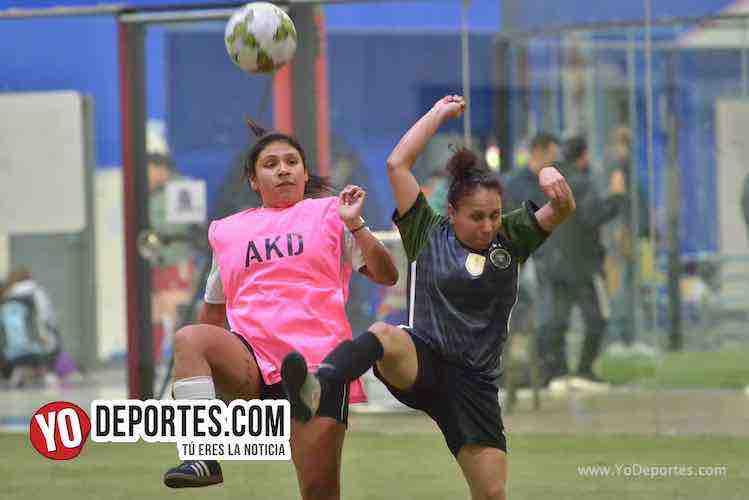 Deportivo Ocaso y Atlético L se fueron empatadas en AKD Soccer League