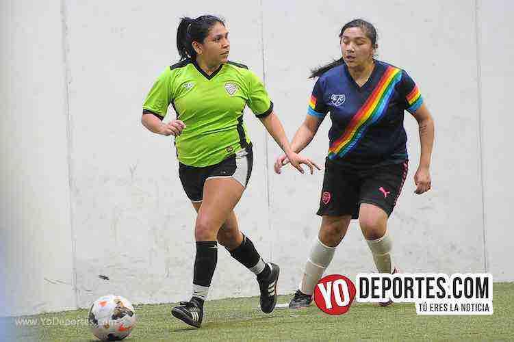 JC 7-Las Mismas-AKD Soccer League Indoor Futbol Femenil