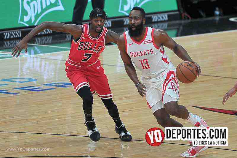 James Harden-Chicago Bulls-Houston Rockets