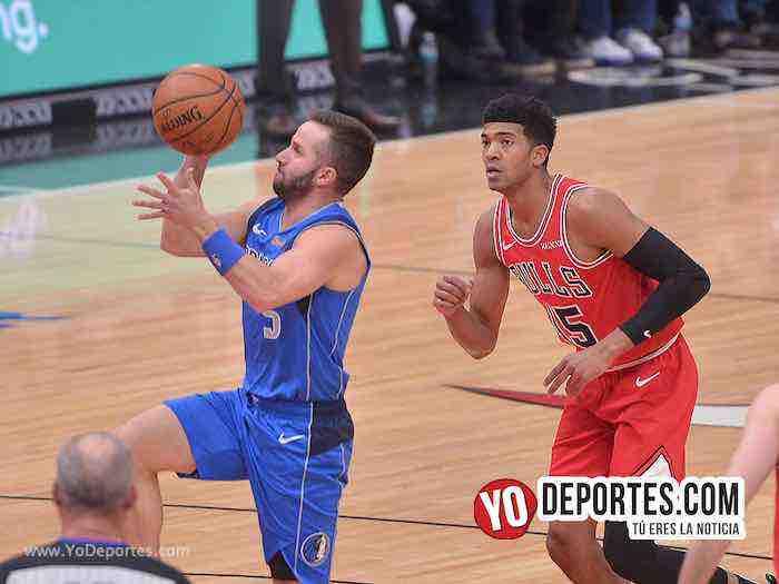 Los Bulls no pudieron con los Mavericks de José Juan Barea
