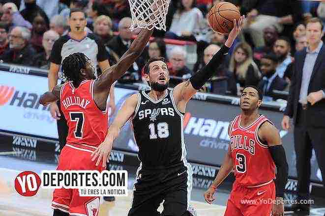 Marco Belinelli-Chicago Bulls-San Antonio Spurs-United Center