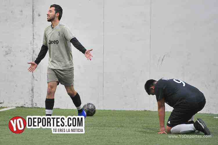 PSG-Deportivo Aztecas-Liga Latinoamericana Futbol Rapido Indoor en Chicago