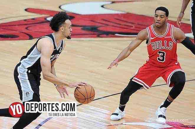 Shaquille Harrison-Derrick White-Chicago Bulls-San Antonio Spurs