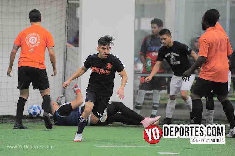 Villa Toro-Deportivo La Palma-Champions de los Martes-Liga San Francisco Futbol Indoor