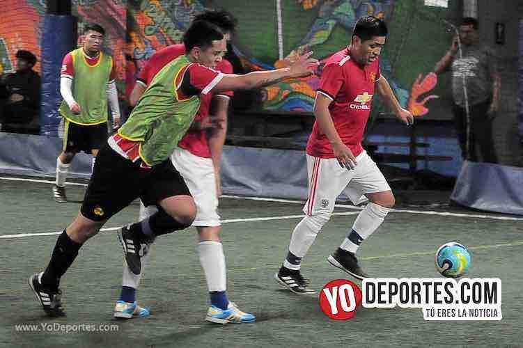 Villagran-CD Mex-Liga Interamericana Soccer League en Chicago