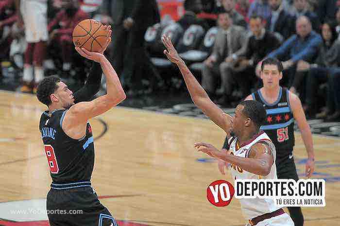 Zach LaVine-Chicago Bulls-Cleveland Cavaliers-United Center