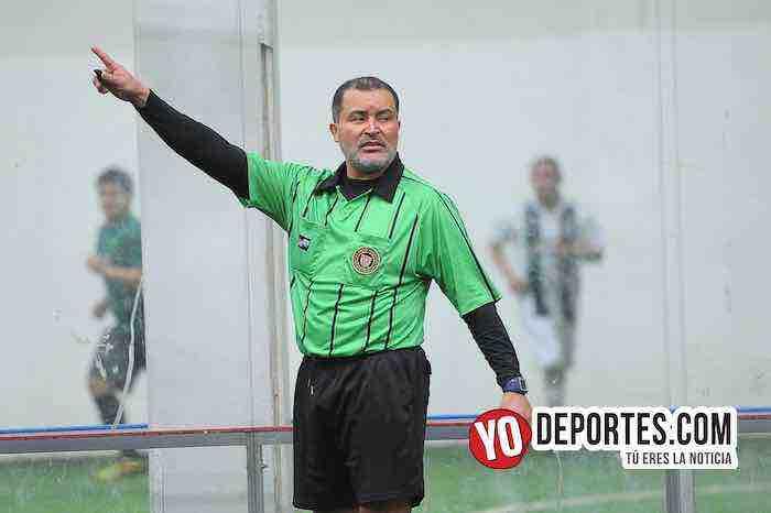 Arbitro Alex Ruiz-Southside-Superman-Liga San Francisco-Champions de los Martes