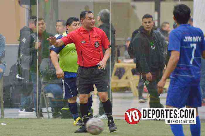 Arbitro Armando Ortega-Cuervos Negros-U de G-Liga 5 de Mayo-Final Segunda Division