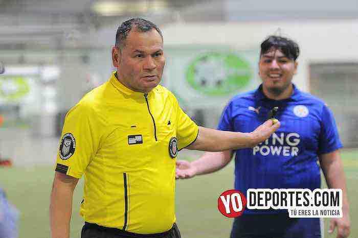 Arbitro Armando Ortega-La Bamba-Marquette FC-Liga 5 de Mayo