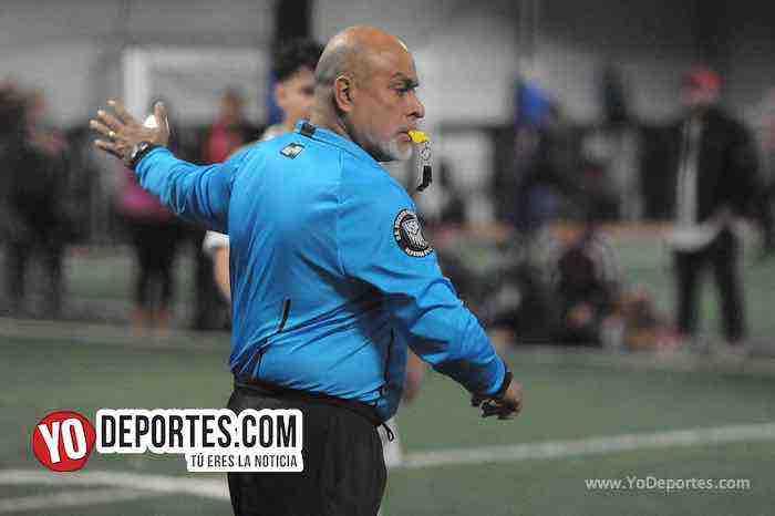 Arbitro Armando Tello-La Juve-CD Vagos-Liga Interamericana