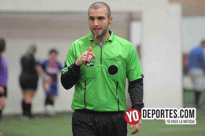 Arbitro Eder Patino-Liverpool-Las Lobas-Liga San Francisco Femenil martes