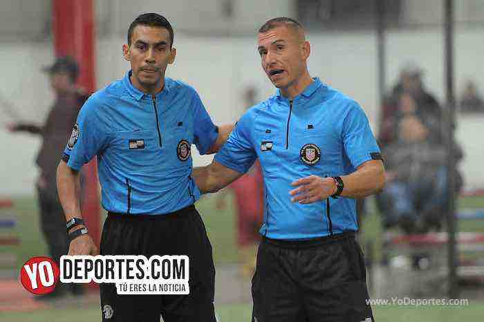 Arbitro Eswin Hernandez-Ramiro Talavera-Boca Jr-Valencia-Liga Latinoamericana-Champions