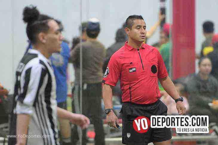Arbitro Fermin Sanchez-Red Bulls-San Marcos-Liga 5 de Mayo