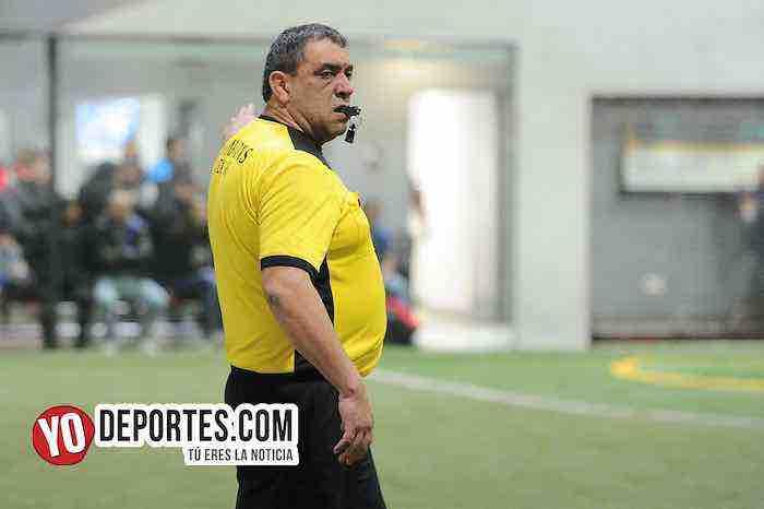 Arbitro Juan Jaramillo-Boca Jr-Red Fire-Champions Liga Latinoamericana