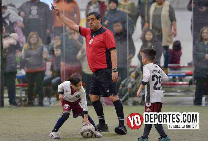 Arbitro Juan Jaramillo-San Antonio-Deportivo 59-Liga Latinoamericana-Finales Champions Kids-2011