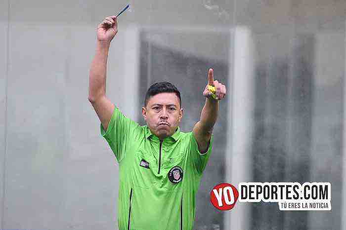 Arbitro Ladislao Velasquez-Boca Jr-Campo Hermoso-Champions de los Martes-Liga San Francisco