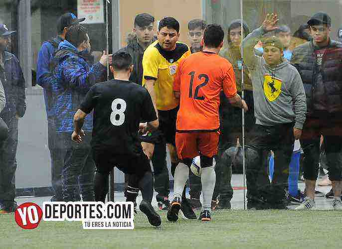 Arbitro Manny Duran-Boca Jr-Red Fire-Champions Liga Latinoamericana