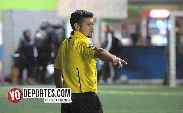 Arbitro Nahum Garcia-CD Fenix-Chicago FC-Liga Interamericana