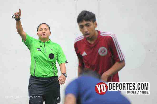 Arbitro Rosalba Luna-Renamix-San Francisco-Liga Douglas-Torneo Corto