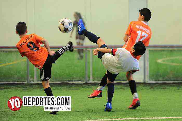 Fotos y video de Blazers vs Real Azteca en la Liga Douglas Kids