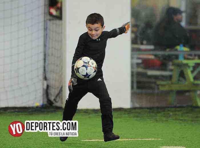 Blazers-Real Azteca-Liga Douglas Kids Portero