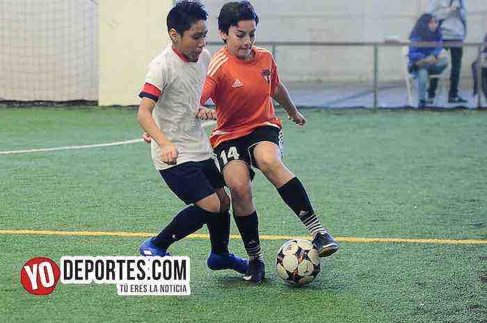 Blazers-Real Azteca-Liga Douglas Kids Soccer League