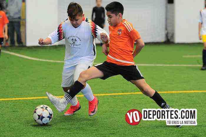 Blazers-Real Azteca-Liga Douglas Kids