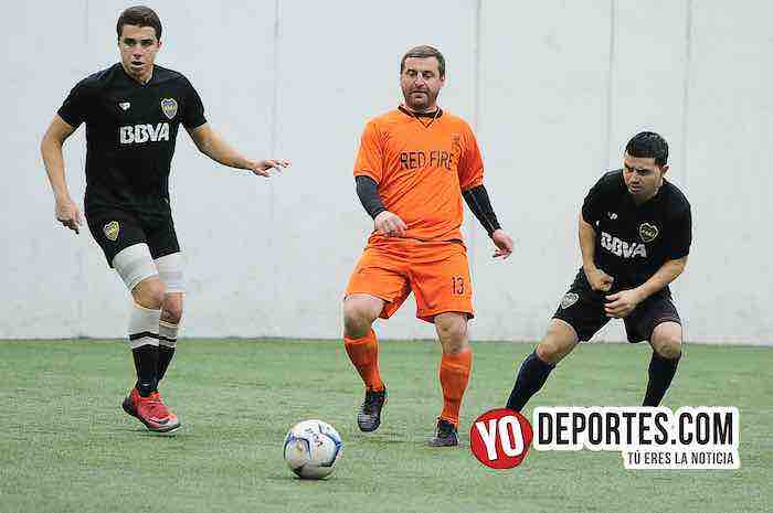 Boca Jr-Red Fire-Champions Liga Latinoamericana Chicago Indoor Sports