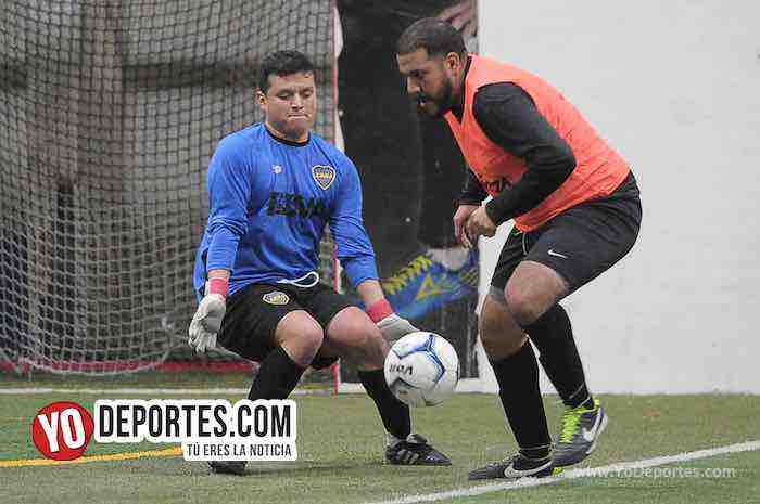 Boca Jr-Valencia-Liga Latinoamericana Chicago Champions