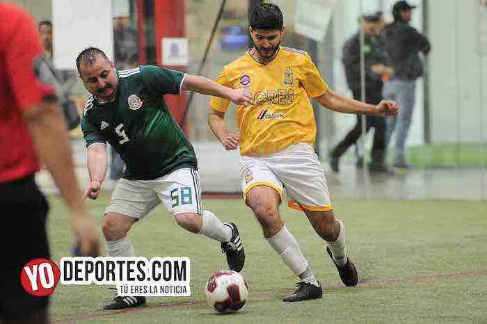 Cachorros-Hidalgo Veracruz-Liga 5 de Mayo-Viernes Indoor Futbol