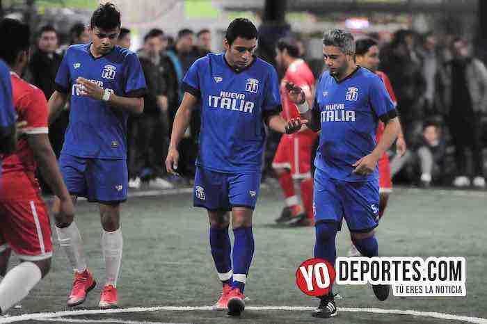 Cesar Ramirez-Victor Sequeida-Mauricio Mejia-Nueva Italia-Las Palmas-Liga Taximaroa