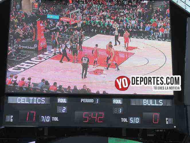 Chicago Bulls-Boston Celtics-United Center